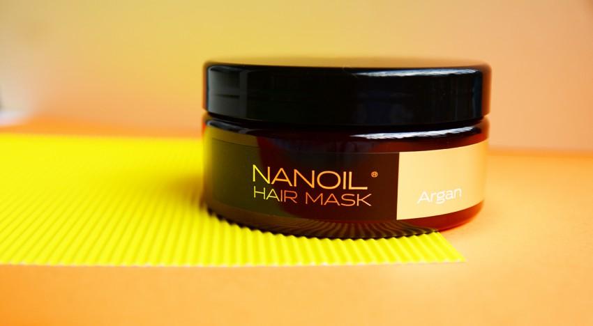 Die natürliche Haarmaske Nanoil Argan