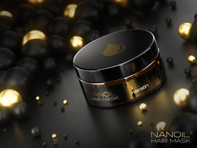 Die wirksame Haarmaske mit Keratin von Nanoil